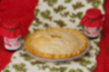 Fresh or frozen pies at Rose's Berry Farm