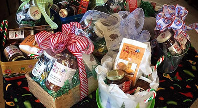 Gift Baskets at Rose's Berry Farm