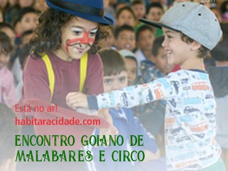 [No ar!] Encontro Goiano de Malabares e Circo