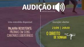 Audição comunica 2 em 1