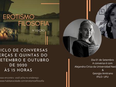 Congresso Erotismo e Filosofia começa hoje (01/09)