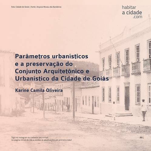 [OLIVEIRA, 2014] Parâmetros Urbanísticos e a Preservação do Conjunto...
