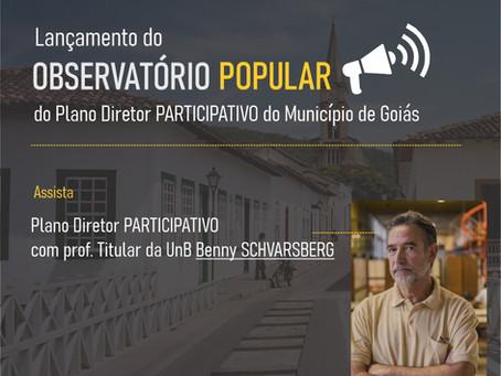 Lançamento do Observatório Popular do PDP de Goiás