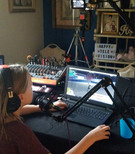 Bethany's studio is a fully functional HD broadcast facility. It is fully automated and she pumps out some great content with terrific guests from around the world. Join her most days - live from anywhere in the world!