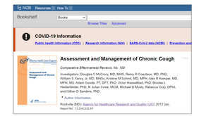 Assessment and Management of Chronic Cough