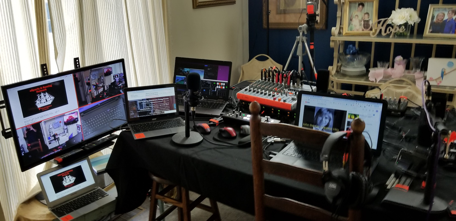 View of all the Equipment
