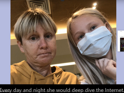 """Press Release: Mystery 5 year, rare disease, instantly cured in young Australian girl, """"by proxy"""""""