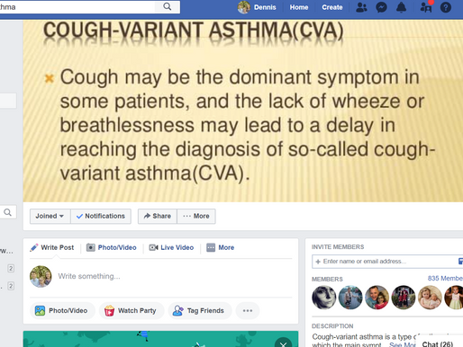 Habit Cough or Cough Variant Asthma (CVA)