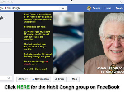 Mystery Cough - Chronic Cough - Habit Cough FaceBook Group