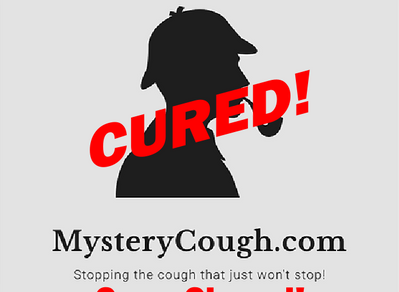 Instant cure - age 49, female? I thought Habit Cough just affected children? Maybe not. Back in life