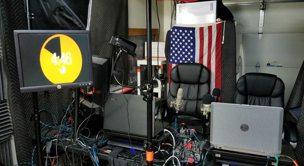Broadcast Control StewSmith.com Studio