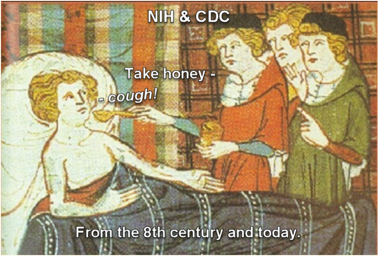 "Note: Until now, in the history of medieval AND modern medicine, there has NEVER been a repeatable, instant, permanent cure for medically unexplained (acute or) chronic cough (MUCC). There has only been very ineffective sugar and honey ""over the counter"" (OTC) recipes for temporary suppression of cough, which have been almost unchanged since medieval times."