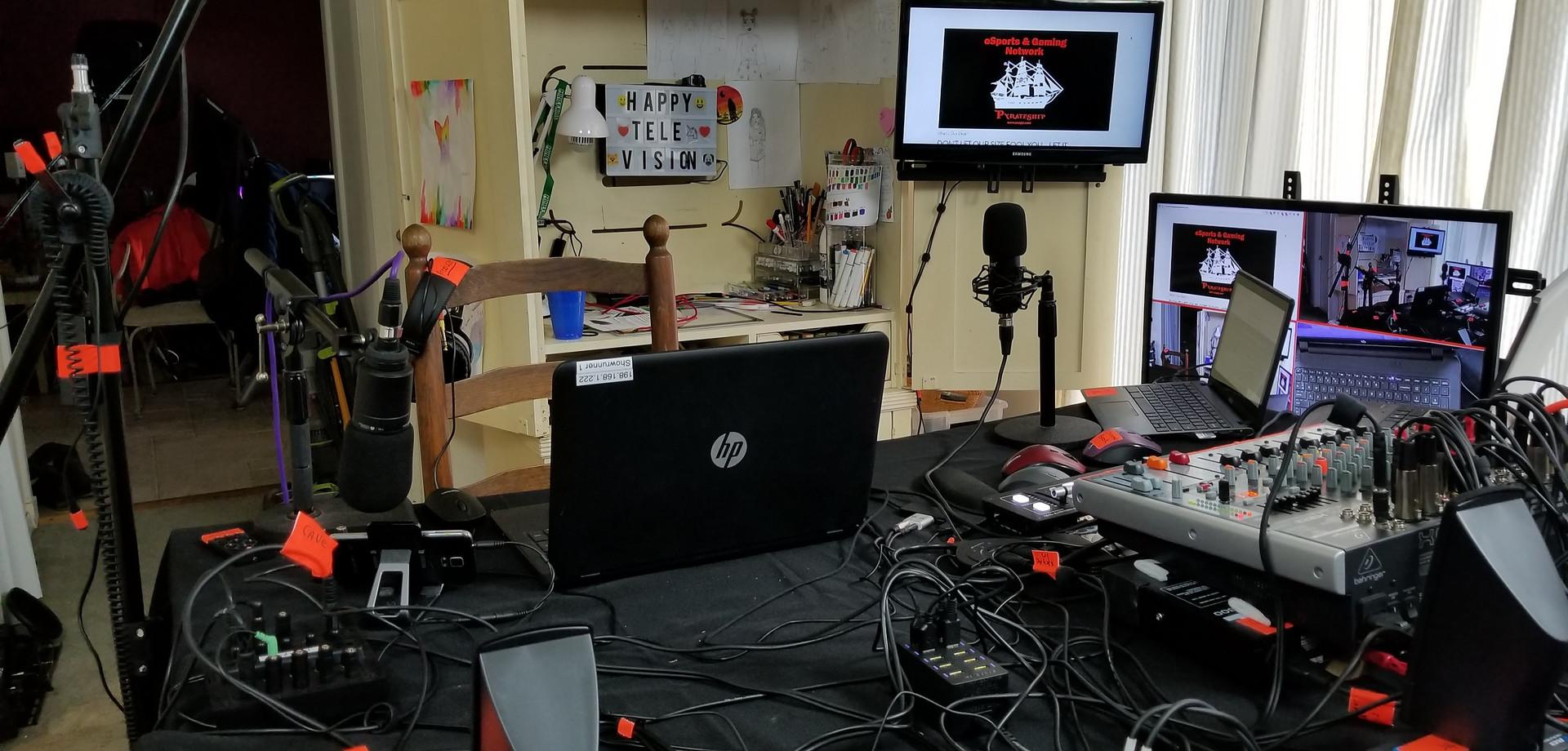 Broadcast Control Room 2 at Interent City Studios