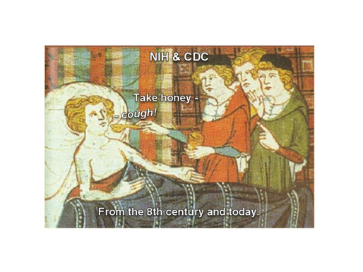 Incredible ~ Medieval Cough Medicine Recipe (Sugar & Honey) Is the Same Today as 1300 Years Ago