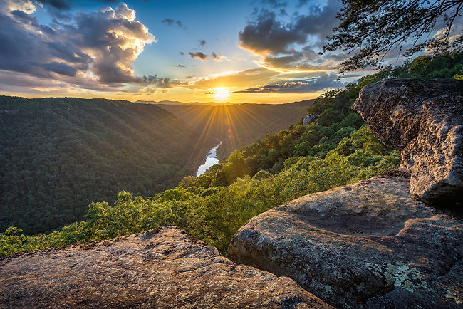 West Virginia, Beauty Mountain, scenic s