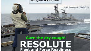 (U) Critical Updates - Force & Fleet Readiness - Cough Aerosol Mitigated & Contained