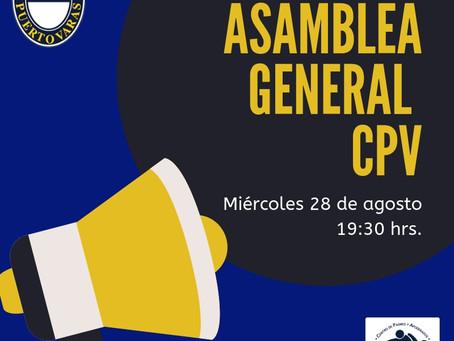 ASAMBLEA GENERAL CPV