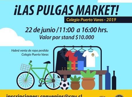 Este sábado 22 ven a las Pulgas Market