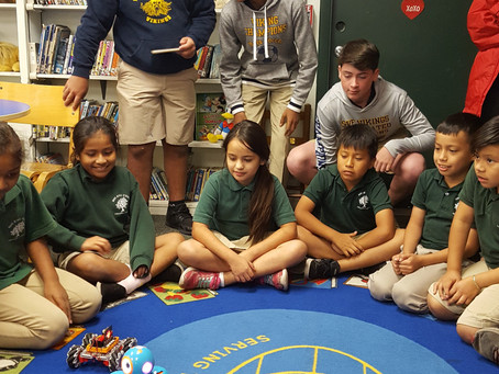 Closing the digital divide: Middle school students propose a solution