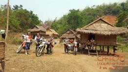 motorcycle tour, dirtbike trip in laos, motorbike adventures, trails remote laos Off road Laos adventures
