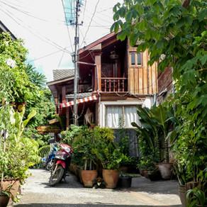 Visit Luang Prabang by its tiny streets