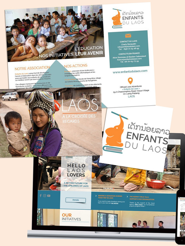 Enfants du Laos, humanitarian organization