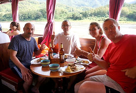 Mekong cruise in private slow boat - ORL