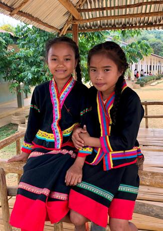 Fille Khamu du village de Ban Vieng Hine