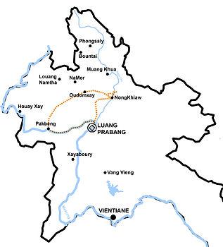 Circuit rando au Laos. ORLA TOURS, Luang Prabang. Agence de voyages au Laos