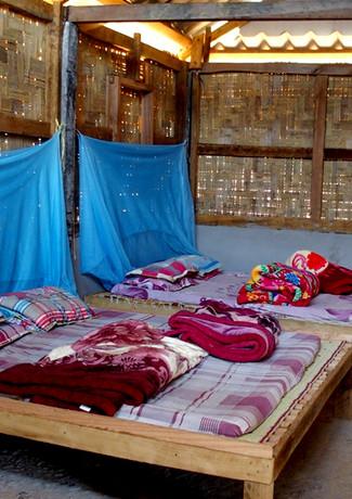 Dortoir des volontaires - Enfants du Lao