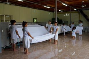 Luang Prabang, professional laundry, laundry, factory laundry