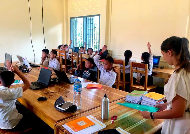 Volontariat dans une école - Enfants du