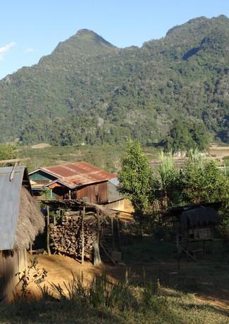 Village de Ban ViengHine au Laos
