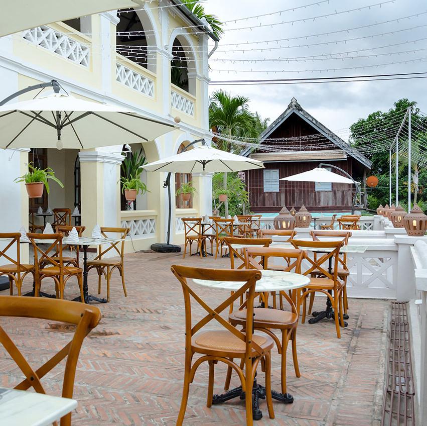 restaurant luang prabang, restaurant laos, cuisine laotienne, cuisine ethnie, repas traditionnel lao, plat traditionnel laotien