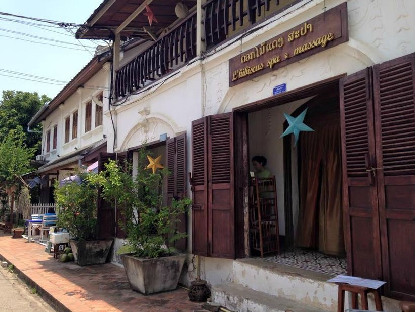 luang prabang, salon de massage, spa, massage luang prabang