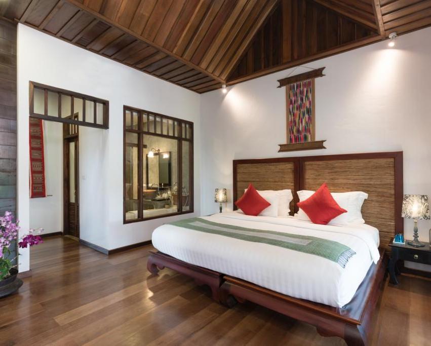 charming hotel luang prabang, accommodation laos, hotel swimming pool luang prabang
