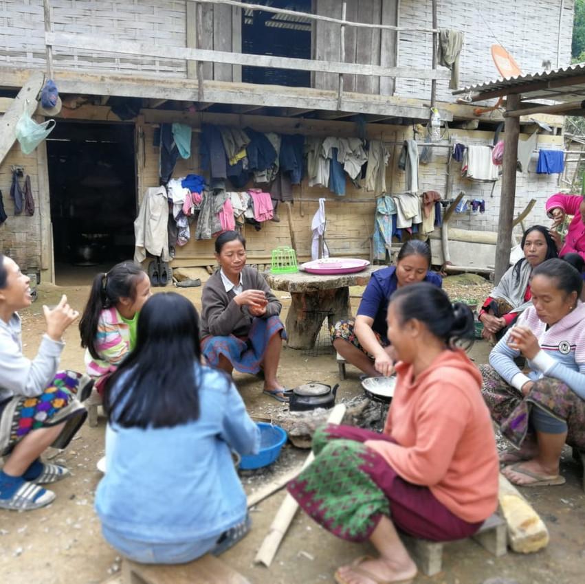 laos, village, rural, rencontres locales, tribu