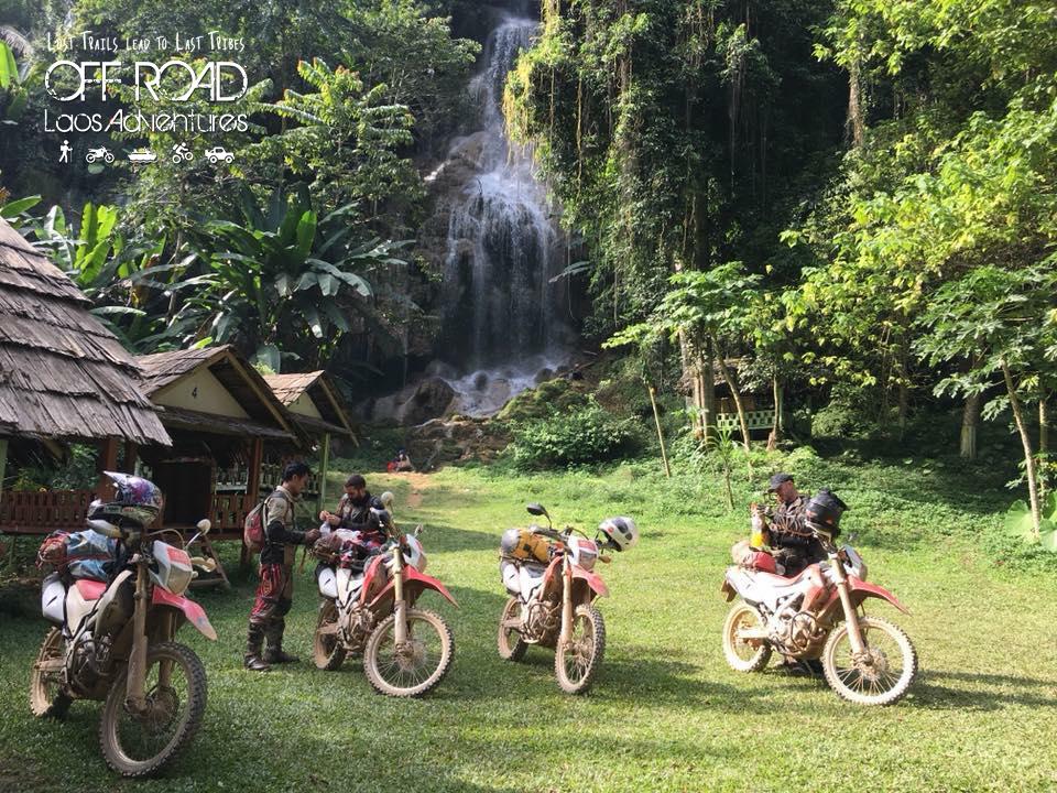 motorbike off road, motorbike exploration, dirtbike survey laos, off road laos adventures, golden triangle, motorbiking laos, surveying trails laos