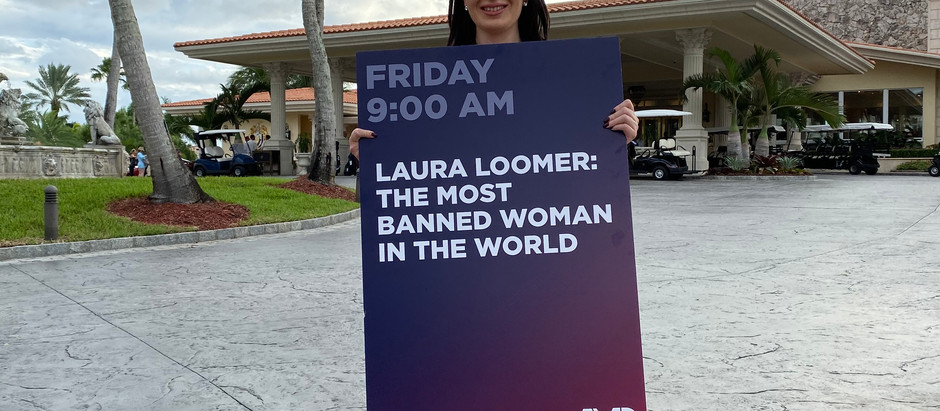 Michelle Malkin And Dinesh D'Souza Stand Up For 'The Most Banned Women' Laura Loomer