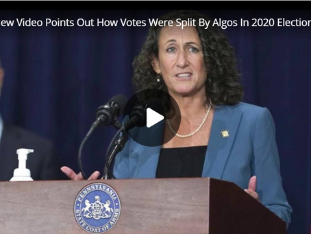 New Video Points Out How Votes Were Split By Algorithms In 2020 Election