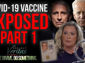 Project Veritas: HHS Whistleblower Reveals Federal Gov't Hiding Vaccine Side Effects Data