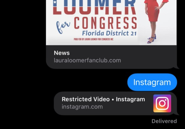 Instagram Restricts/Censors Laura Loomer Fan Club Confetti Video In USA-Video