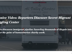 Exclusive Video: Reporters Discover Secret Migrant Smuggling Center