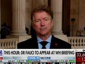 Video: Rand Paul Demands Fauci Be 'Removed From TV For Fear Mongering'