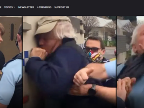 WATCH: Food Store Owners Who Banned Masks Over Hygiene Concerns Violently Arrested