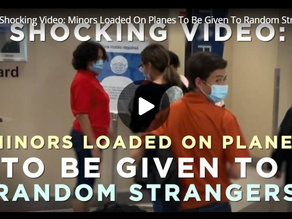 Shocking Video: Minors Loaded On Planes To Be Given To Random Strangers