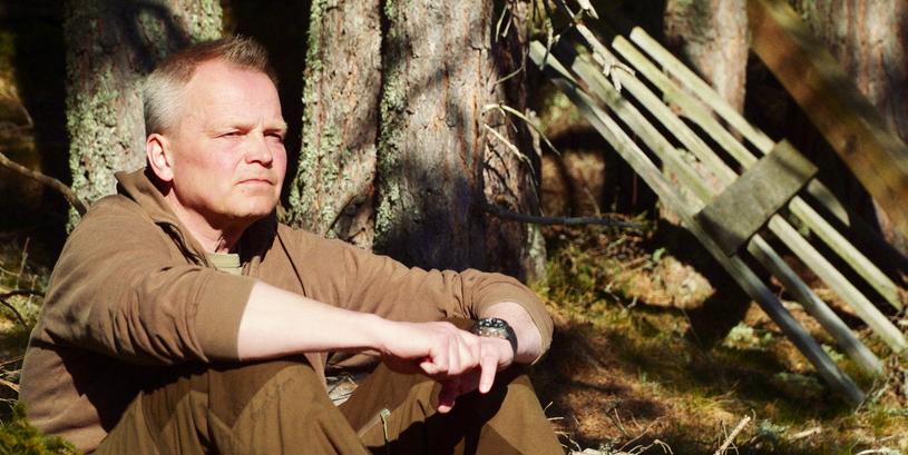 Erlend på slægtsgården i Norge