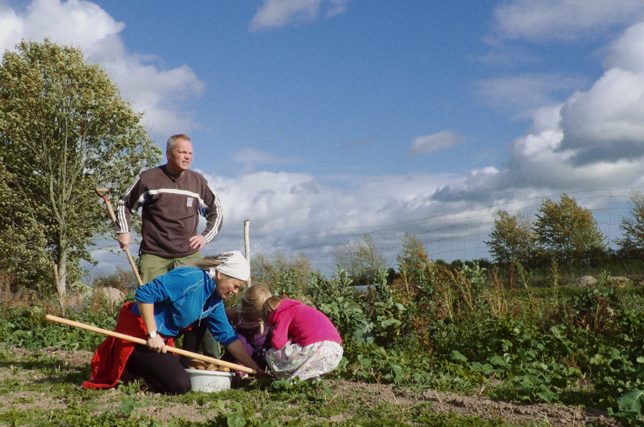 Filmens billede_Familien i marken