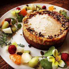 vegan cheesecake for my friend's birthda