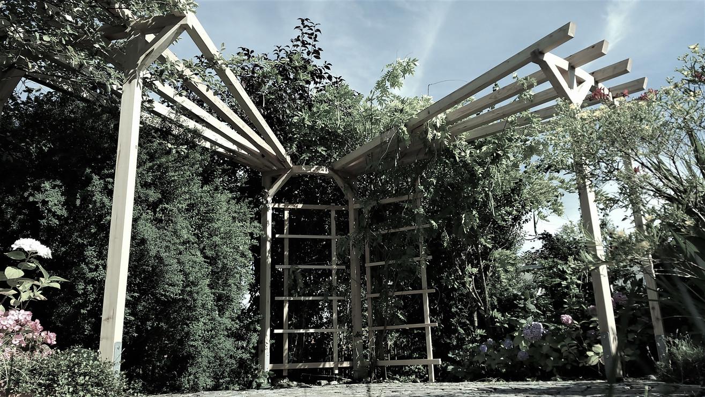 Garten Rankgitter rund